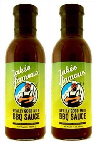 Mild BBQ Sauce for Sale Jakes 2 Pack